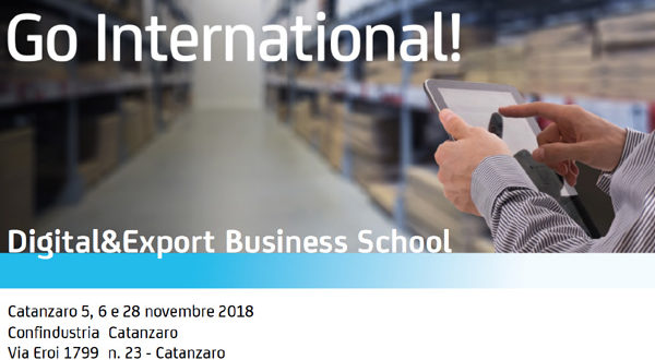 Percorso formativo DIGITAL AND EXPORT BUSINESS SCHOOL