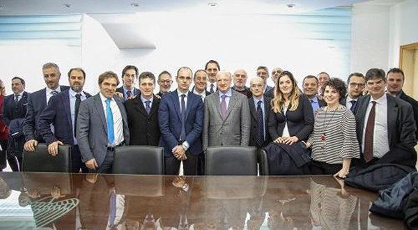 Una folta rappresentanza di Confindustria Catanzaro ha partecipato all' assemblea regionale di Unindustria Calabria