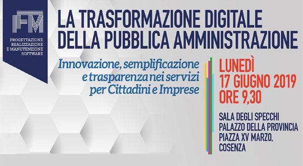 Convegno Trasformazione Digitale – 17 giugno 2019