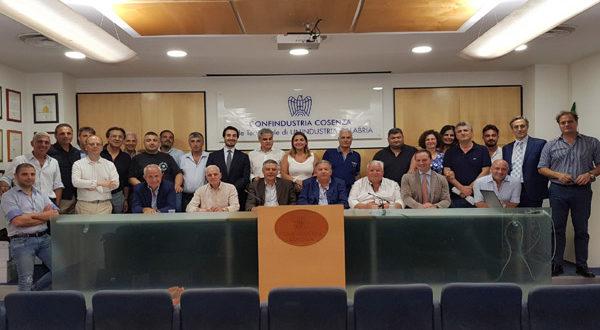 Perciaccante confermato alla presidenza di Ance Cosenza. Rinnovato il Consiglio Direttivo
