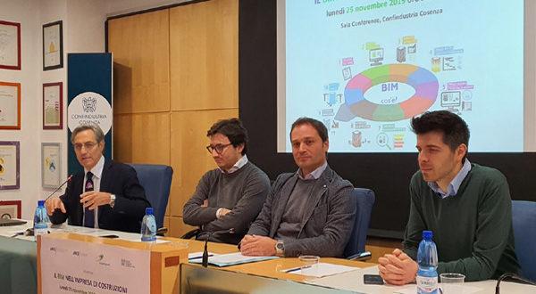Ance Cosenza: il futuro del settore ha bisogno di nuove figure professionali. Strategica la tecnologia BIM