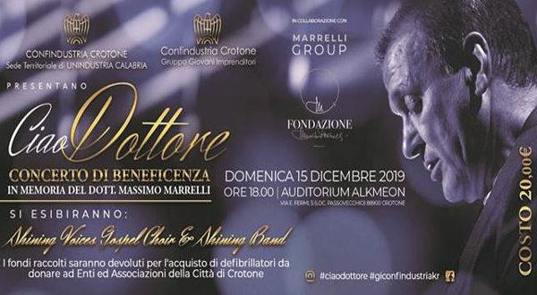 Gruppo Giovani Imprenditori Confindustria Crotone  | Concerto di beneficenza, 15 dicembre ore 18.00