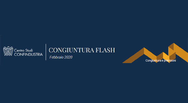 Congiuntura Flash – L'Italia inizia anche il 2020 senza crescita. Rischi dalla Cina, ma i mercati finora reggono