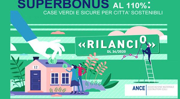 """""""Superbonus al 110%: case verdi e sicure per città sostenibili"""" – Evento ANCE 27 maggio"""
