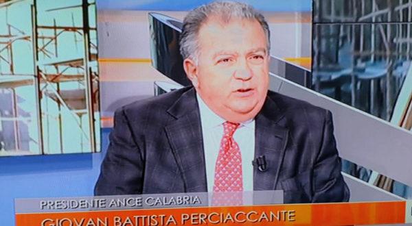 Perciaccante (Ance Calabria): vicinanza all'imprenditore Laganà per intimidazione
