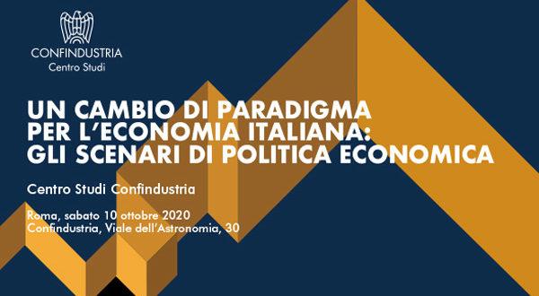 Presentazione Rapporto Centro Studi Confindustria, 10 ottobre 2020