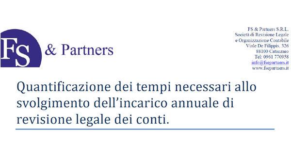 Convenzione FS & Partners
