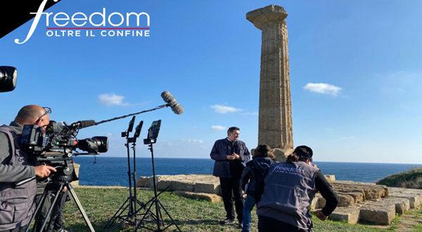 """Il 26 febbraio """"Freedom"""" esplora Crotone, Isola Capo Rizzuto ed il Mar Jonio"""